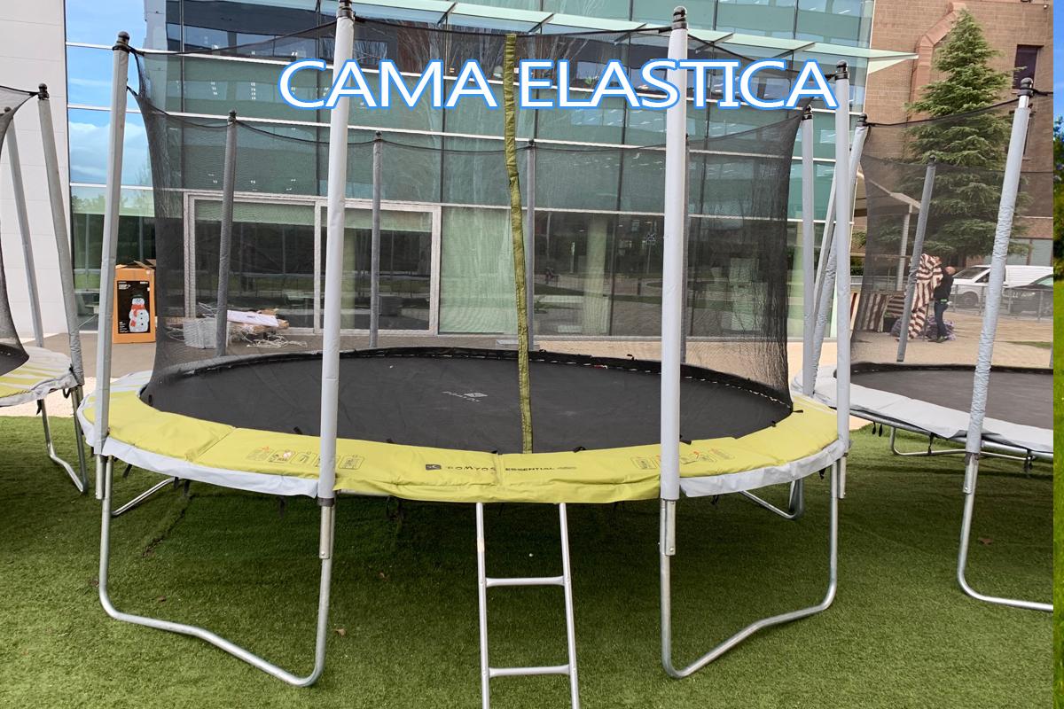 Alquiler Cama elastica