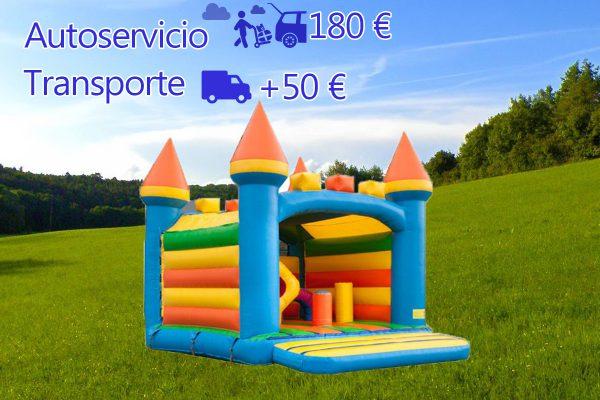 Castillo Hinchable Alquiler Fortaleza Precio