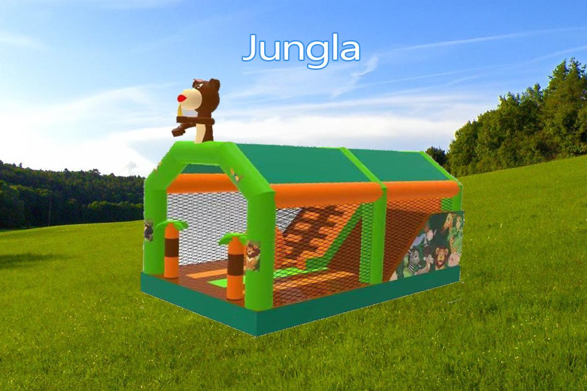 Castillo Hinchable Alquiler Jungla