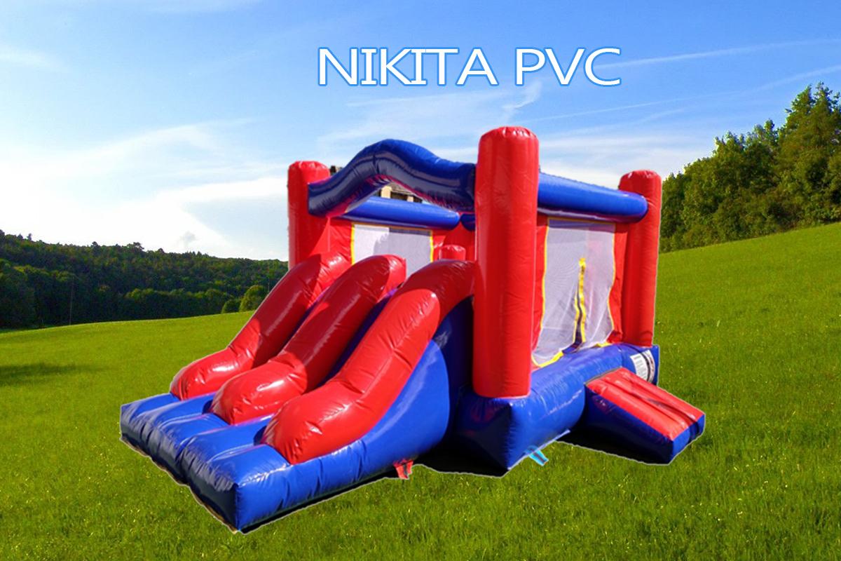 Castillo Hinchable Alquiler Nikita pvc