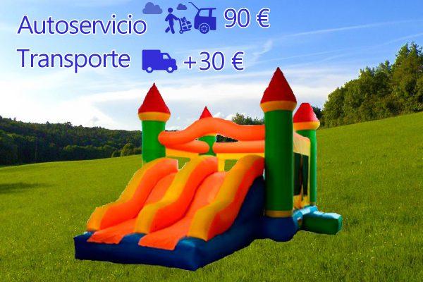 Castillo Hinchable Alquiler Super Castillo Portada
