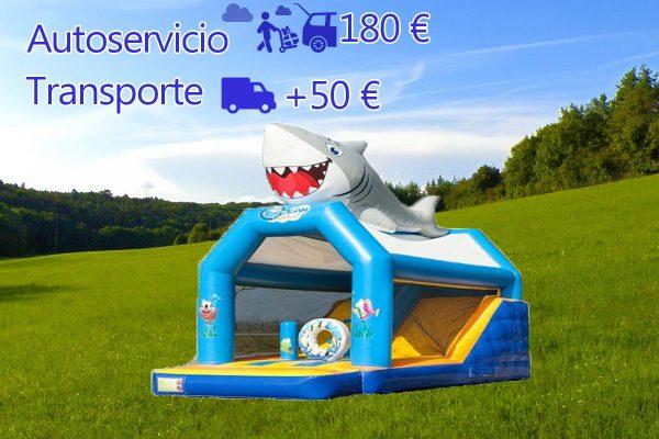 Castillo Hinchable Alquiler Tiburon Precio