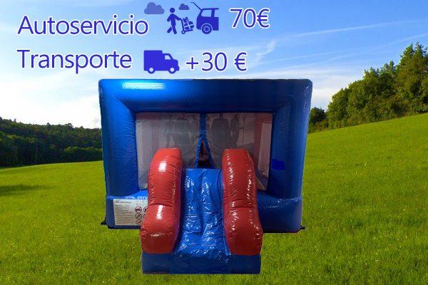 astillo hinchable Super Heroes L Pvc Tarifas