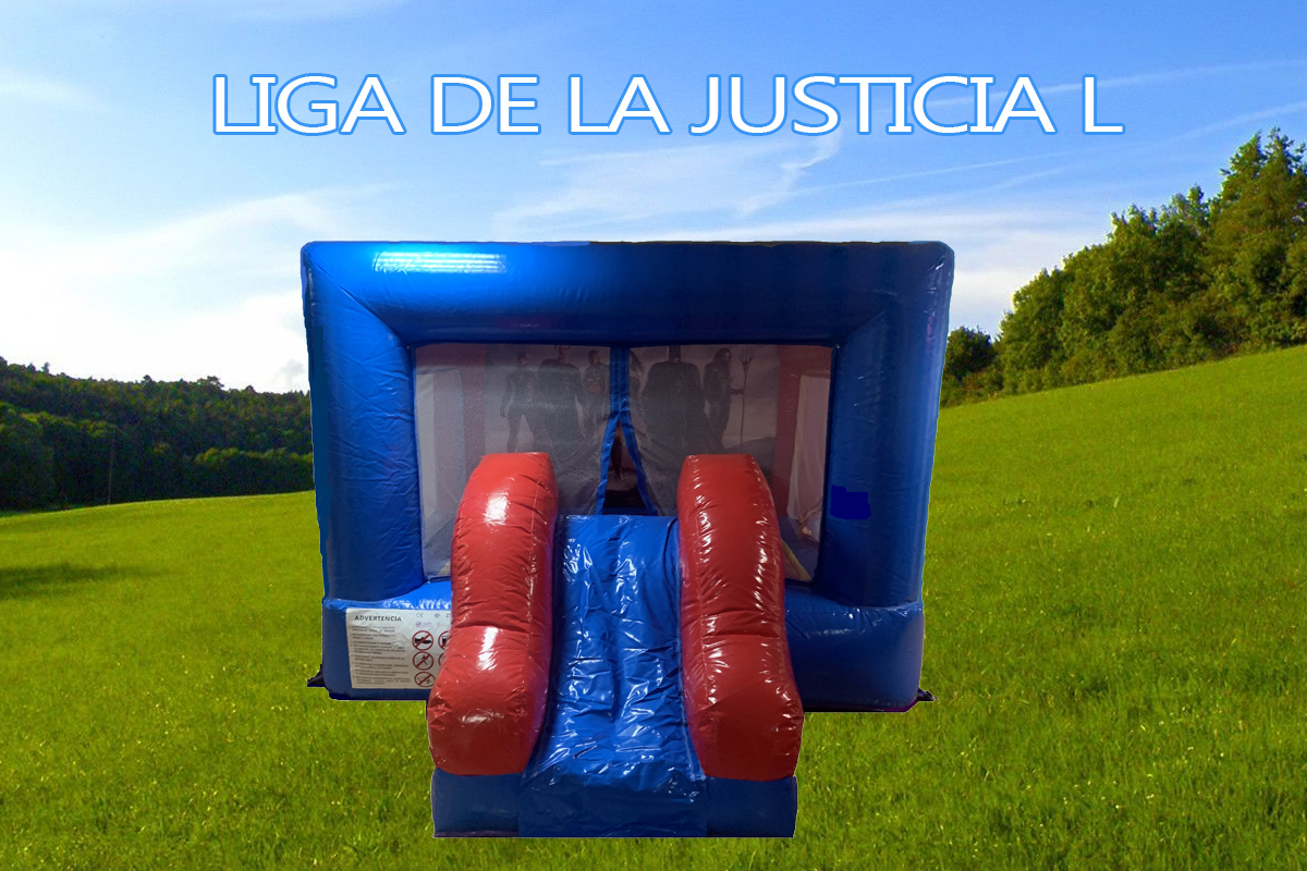 astillo hinchable Super Heroes L Pvc