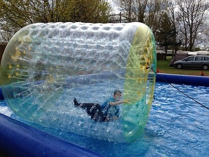 alquiler Waterball-Rulo